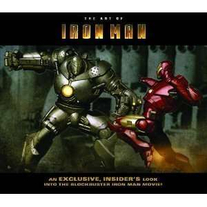 IRON MAN THE ART OF IRON MAN THE MOVIE (PAPERBACK)  N/A
