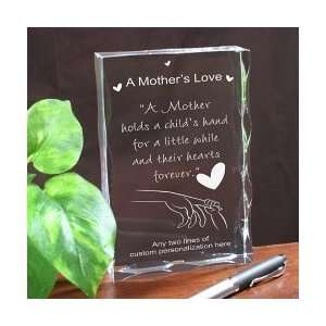 Personalized A Mothers Love Mothers Day Keepsake Gift