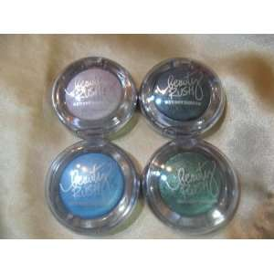 victorias secret lot 4 beauty rush wet/dry eye shadow flower girl