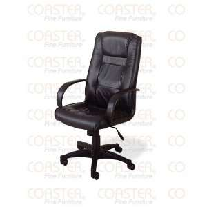 Union Square Executive Black Leather Home Office Chair