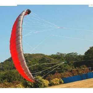 quad line traction kites 3 color red blue green+fly tool Toys & Games