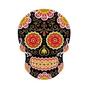 Black Sugar Skull Stickers Arts, Crafts & Sewing