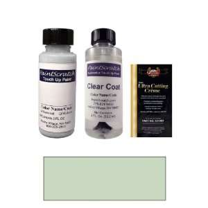 2 Oz. Paradise Blue Pearl Metallic Paint Bottle Kit for