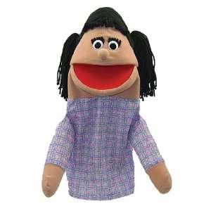 Half Body Family Puppets Girl