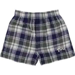 TCU Horned Frogs Purple/Charcoal Legend Flannel Boxer