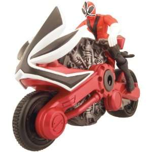 Power Ranger Samurai Samurai Disc Cycle Fire Toys & Games
