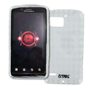 EMPIRE Clear Diamonds Poly Skin Case Cover for Verizon Motorola DROID