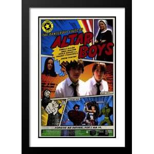 Dangerous Lives of Altar Boys 32x45 Framed and Double Matted Movie