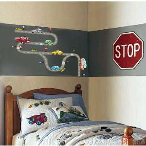 Home Decor Mural Art Wall Paper Stickers Cars lover