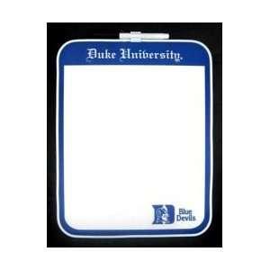 Duke Blue Devils Dry Erase Board
