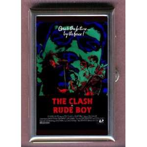 THE CLASH RUDE BOY 1980 POSTER Coin, Mint or Pill Box
