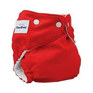 FuzziBunz Onesize Red Cloth Diaper [Baby Product]: Baby