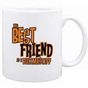 New  My Best Friend Is A Bullmastiff  Mug Dog