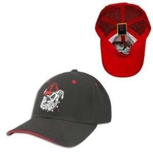 Georgia Bulldogs NCAA Dobby Flex Baseball Cap (Black
