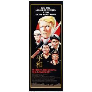 Merry Christmas Mr. Lawrence Movie Poster (14 x 36 Inches   36cm x