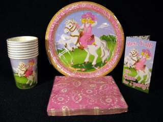 Pink Western Cowgirl Horse Birthday Party Supplies Plates Napkins Cups