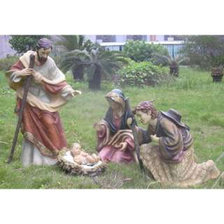 Living Home 4 Piece Outdoor Nativity Set   BJs Wholesale Club