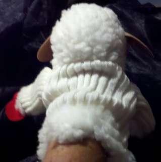 1993 Shari Lewis Lamb Chop Hand 18 Puppe Plush Lovey