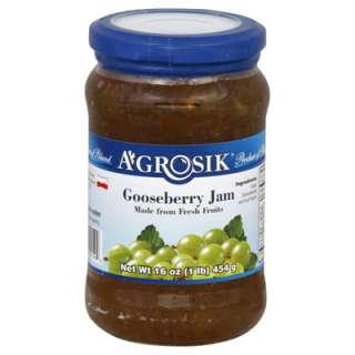 Grosik Gooseberry Jam  6 Jars (16 oz ea)  Meijer