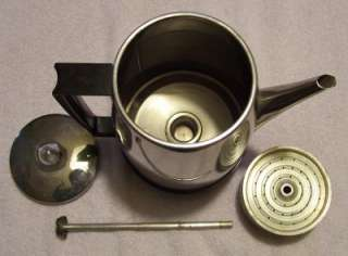 Vintage 12 Cup Electric Wizard Imperial Percolator Coffee Maker WORKS