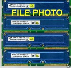 SONY VAIO PCV RX470DS 512mb pc800 45 ram Rambus Memory