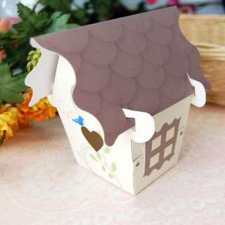 Bird House Favor Boxes