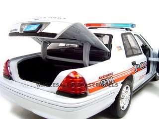 West Warwick Ri Diecast Model Police Car 1/18 Die Cast Car By Motormax