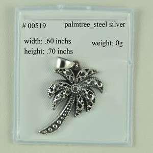 STERLING SILVER PALMETTO  P 00519