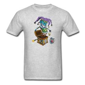 Evil Clown T Shirt Jack in the Box II  GREENBOY Inc.