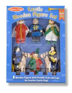 Melissa & Doug Castle Wooden Figure Set 02851
