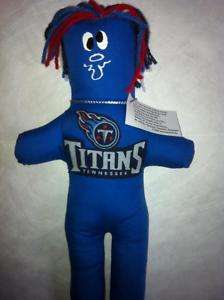 Tennessee TITANS Dammit Doll Frustration Stress NFL