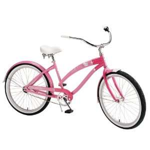 Nirve Hello Kitty Special Edition Retro Kitty Womens Cruiser Bike