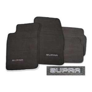 Toyota Supra Mark II Medium Grey Carpet Floor Mats with