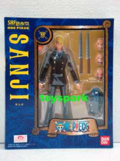 BANDAI S.H. Figuarts One Piece SANJI action figure shf