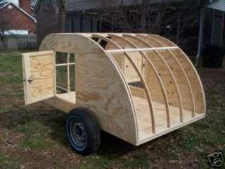My finished 5 ft by 8 ft Teardrop Camper costs me about $600 . and