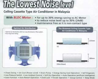 LG 42000 BTU COOL & HEAT PUMP LC425HV Ceiling Recessed or CASSETTE