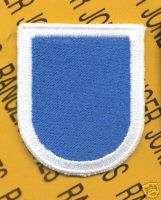 105th MI Bn 5 Inf LRS Airborne Ranger LRRP flash patch