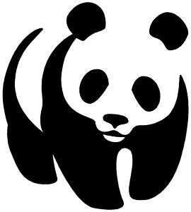 PANDA Sticker Cool Animal Bear Vinyl Decal Love Laptop