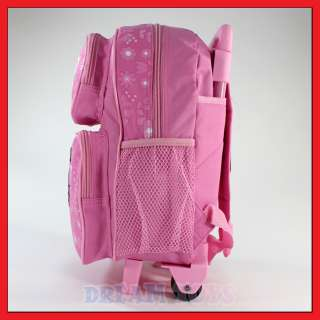 12 Sanrio Hello Kitty Pink Roller Backpack   Rolling