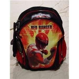POWER RANGERS RED RANGER BACKPACK ~BONUS~ POWER RANGERS