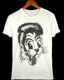 Stray Cats Brian Setzer Strut Cat Swing Rock Shirt S XL