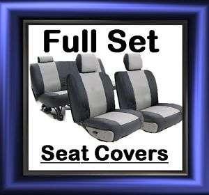 Soft IMITATION LEATHER CAR SEAT COVERS Full Set pu1