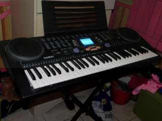 CASIO CTK 533 FULL SIZE ELECTRIC KEYBOARD STAND INCLUDED