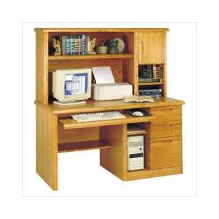 Office Waterfall 56 W Computer Desk with Organizer Hutch: Furniture