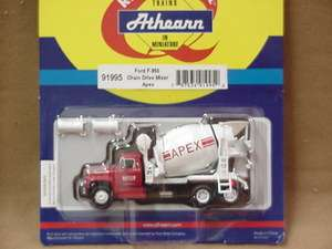 Athearn HO scale Ford F 850 CEMENT MIXER