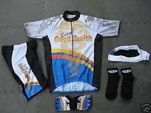 New GOOD HEALTH Team Medical Cycling Set Jersey XXL