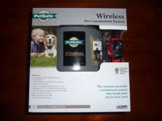 NIB PetSafe Wireless Fence Pet Dog Shock Collar System Radio Pet IF