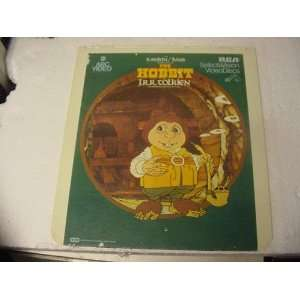 The Hobbit By J.R.R. Tolkien Rankin/Bass CED Disc.: Everything Else