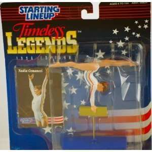 Lineup Timeless Legends Nadia Comaneci Action Figure Toys & Games