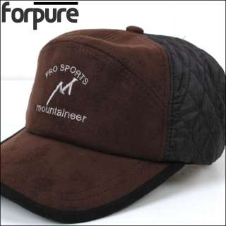 Fly Fishing Warm hats Suede Camois Ear Flap hat Huntting caps 09
